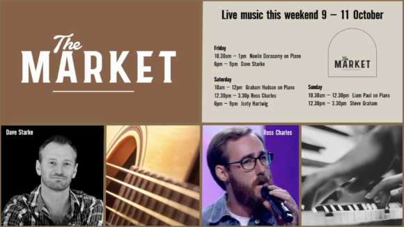 MUSIC @ THE MARKET – 9 – 11 OCTOBER