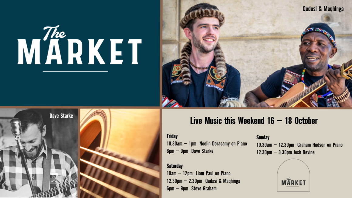 MUSIC @ THE MARKET – 16 – 18 OCTOBER