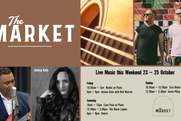 MUSIC @ THE MARKET – 23 – 25 OCTOBER
