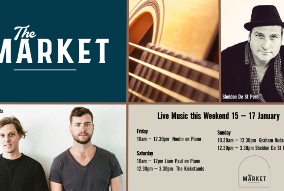 MUSIC @ THE MARKET – 15 – 17 JANUARY