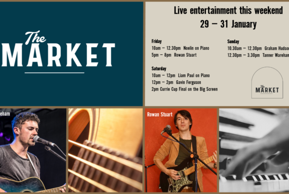 MUSIC @ THE MARKET – 29 – 31 JANUARY
