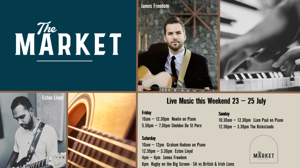 MUSIC @ THE MARKET – 23 – 25 JULY