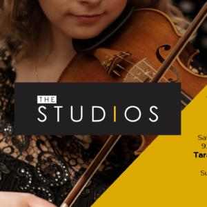 THE STUDIOS: FRI 1st – SUN 3rd