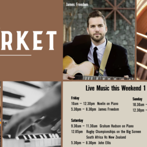 MUSIC @ THE MARKET – 1 – 3 October