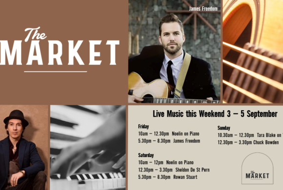 MUSIC @ THE MARKET – 3 – 5 September