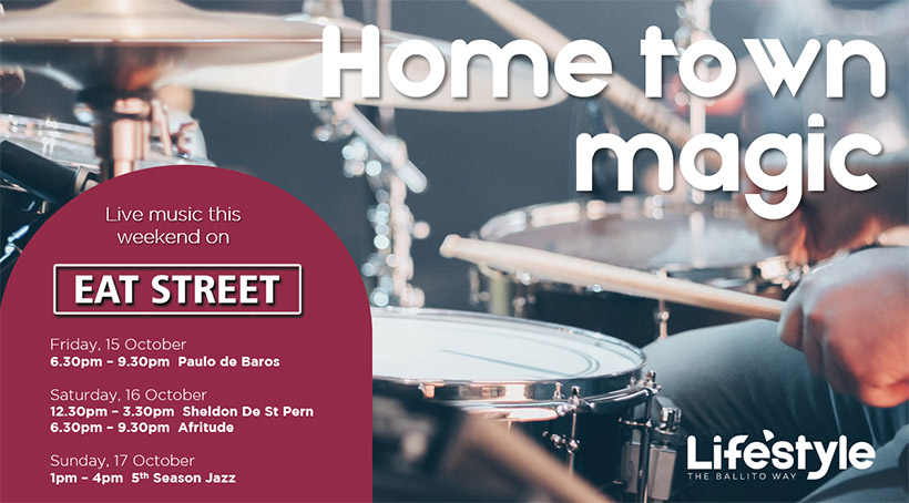 HOME TOWN MUSIC – 15th to 17th OCTOBER
