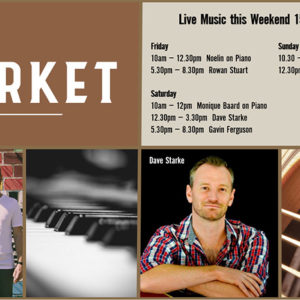 MUSIC @ THE MARKET – 15 – 17 OCTOBER